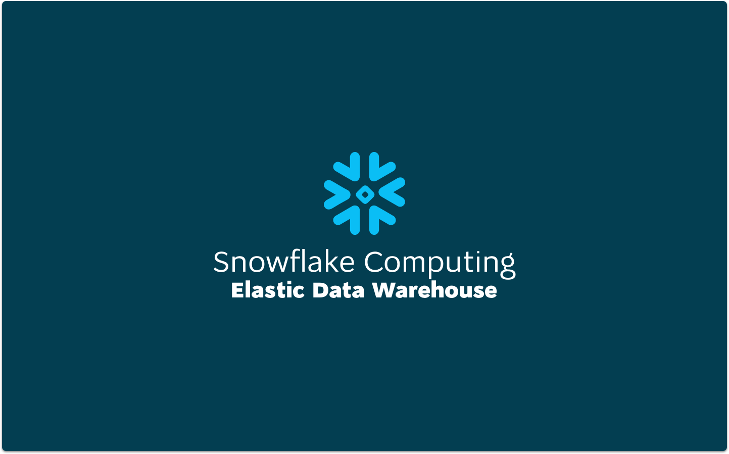 8 Reasons To Consider An Anytime Modern Snowflake Data Warehouse