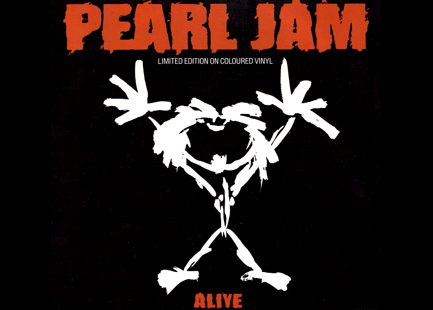 The design known as 'Stickman' that served as the artwork on the cover of the 'Alive' single.