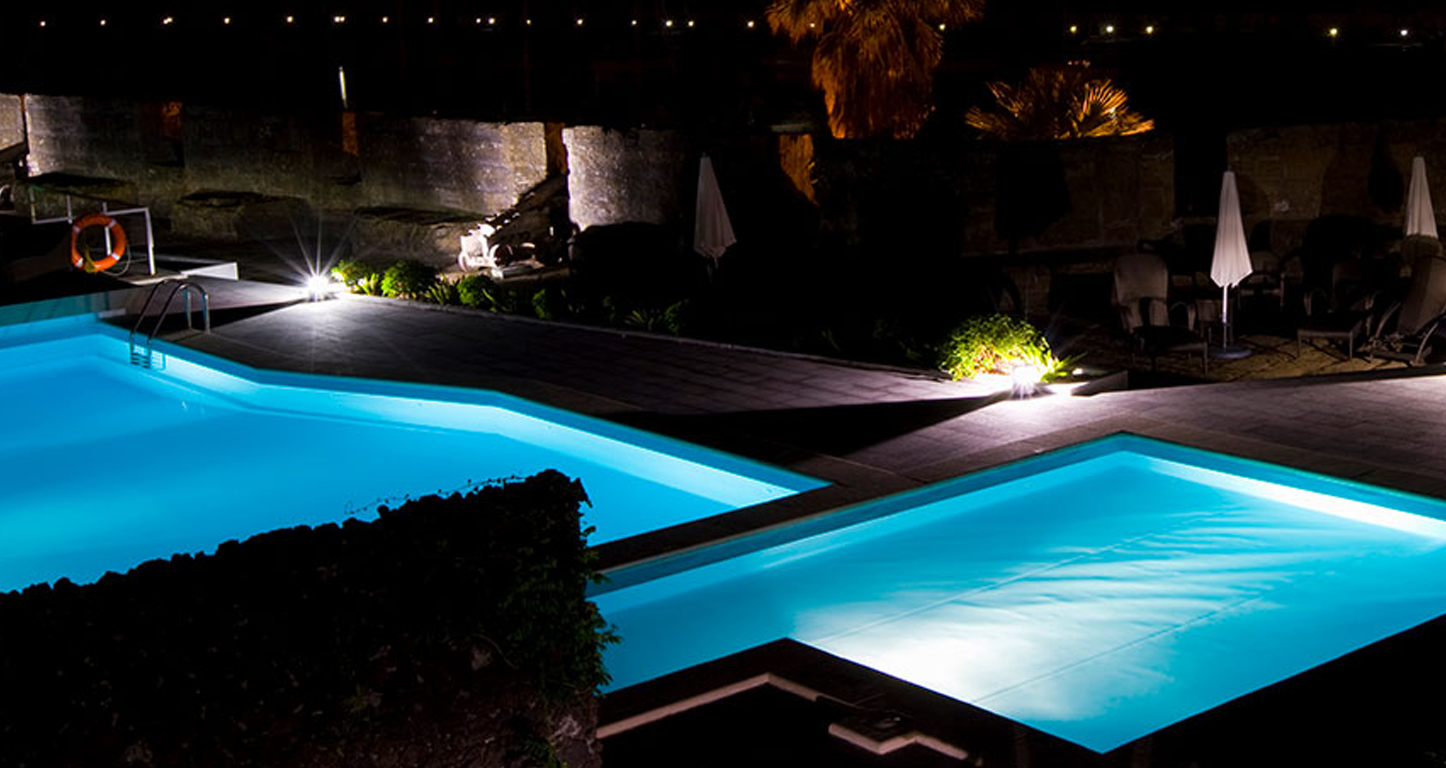 Image of: Energize Your Swimming Pool With Waterproof Led Strip Lights By Fidel Martin Medium