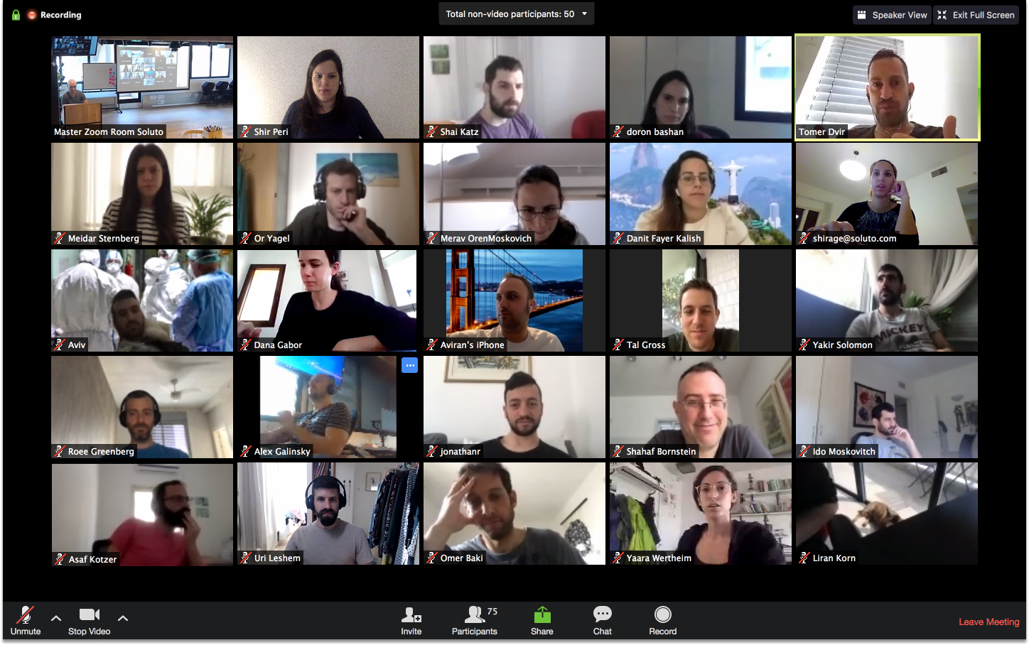 Soluto's Daily standup meeting