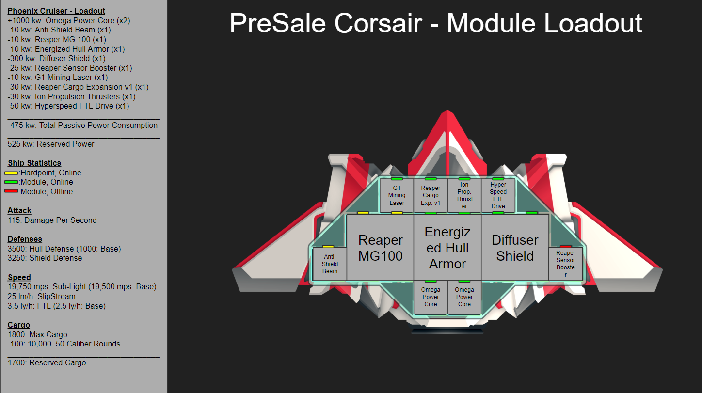 Ship Modules and Blueprints in CSC - Crypto Space Commander ... on