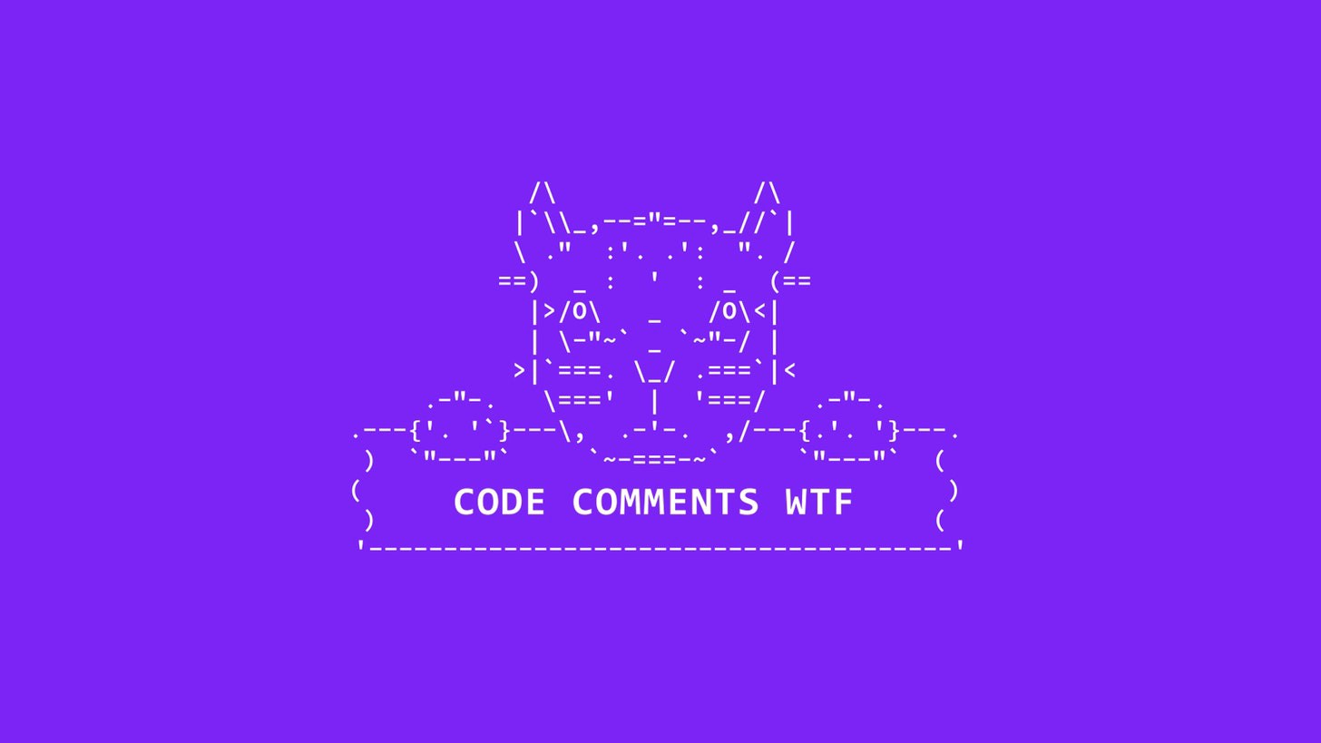 Code comments