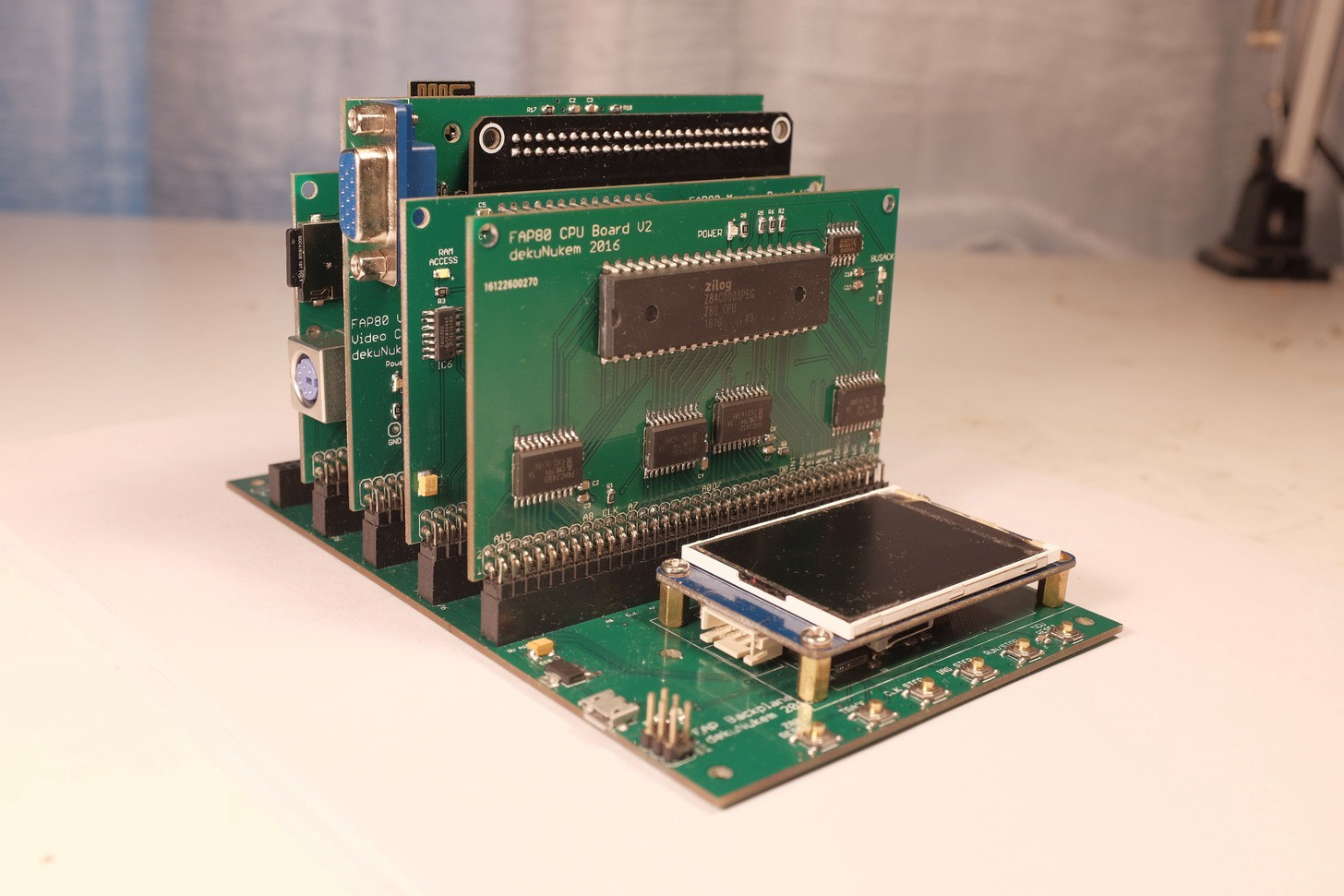 Build Your Own Z80-Based Computer - Hackster Blog