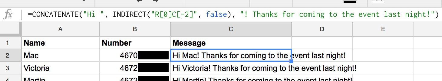 Send SMS from Google Spreadsheets - 46 thoughts - Medium