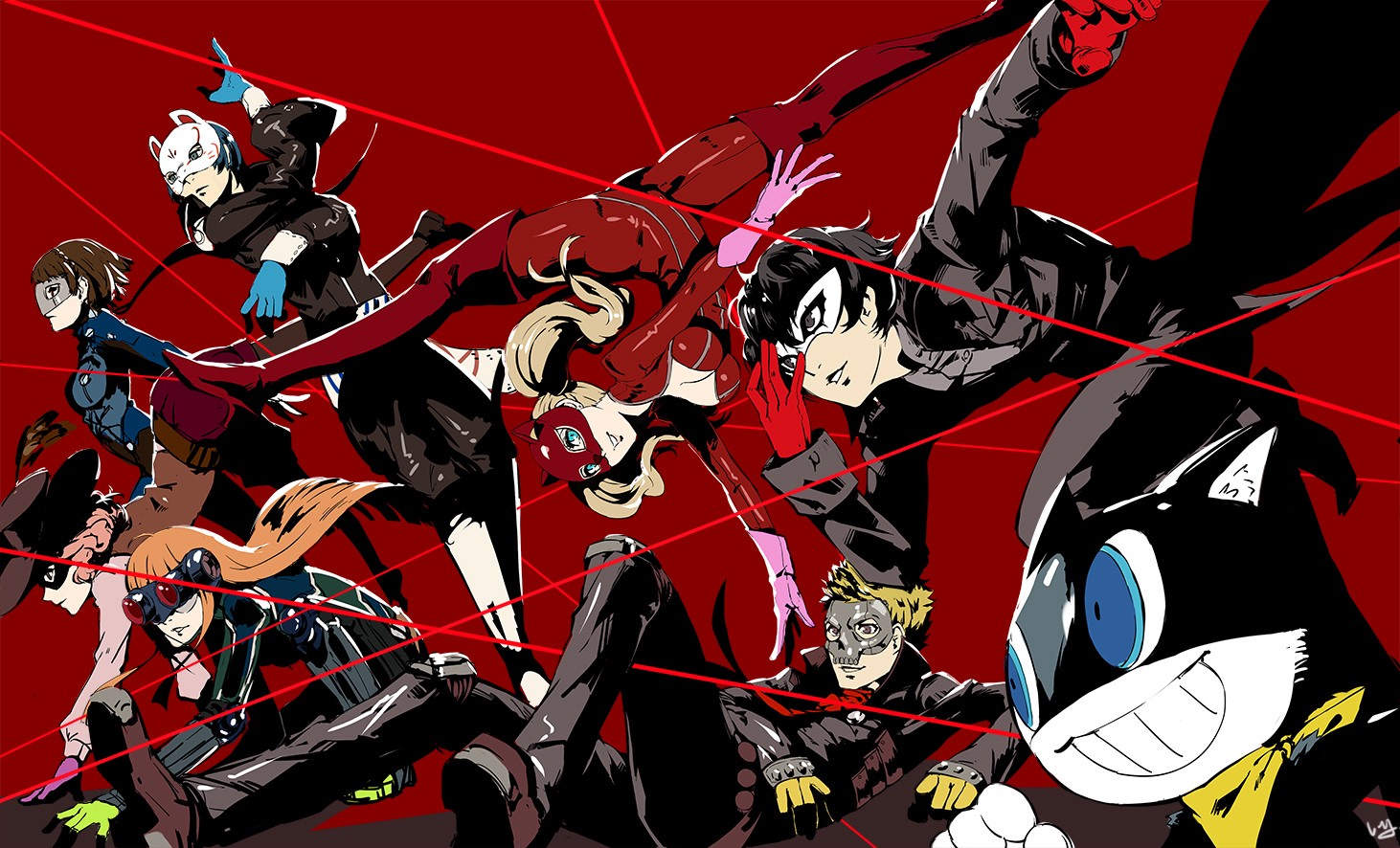 The Ui And Ux Of Persona 5 Ridwan Khan