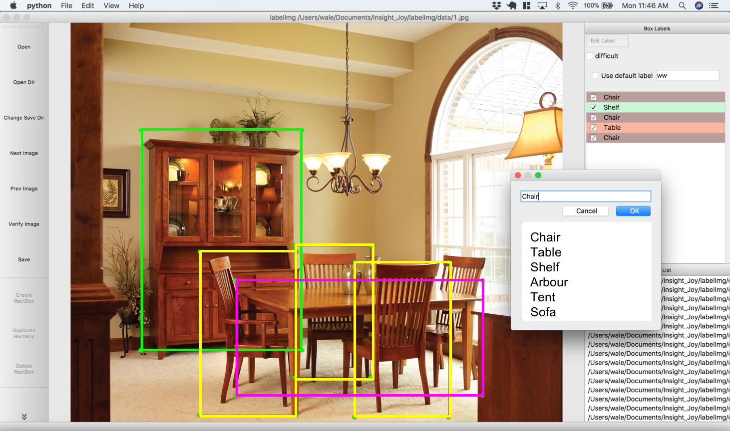 End-to-End Object Detection for Furniture Using Deep Learning