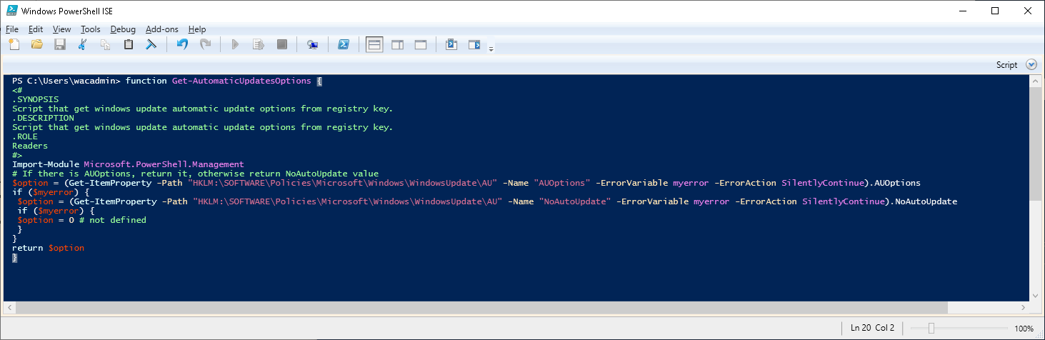 The Windows Admin Center 1809 PowerShell Scripts - Real Network Labs