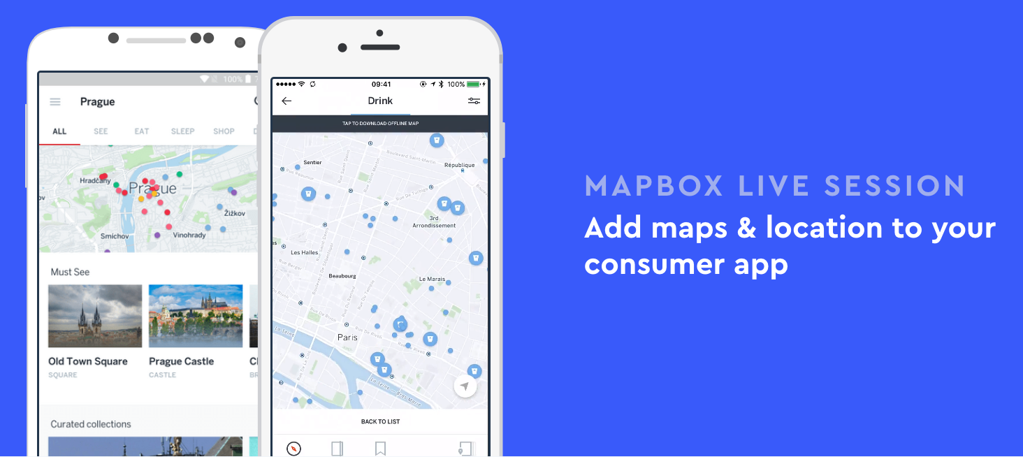 Mapbox Live: Add maps & location to your consumer app