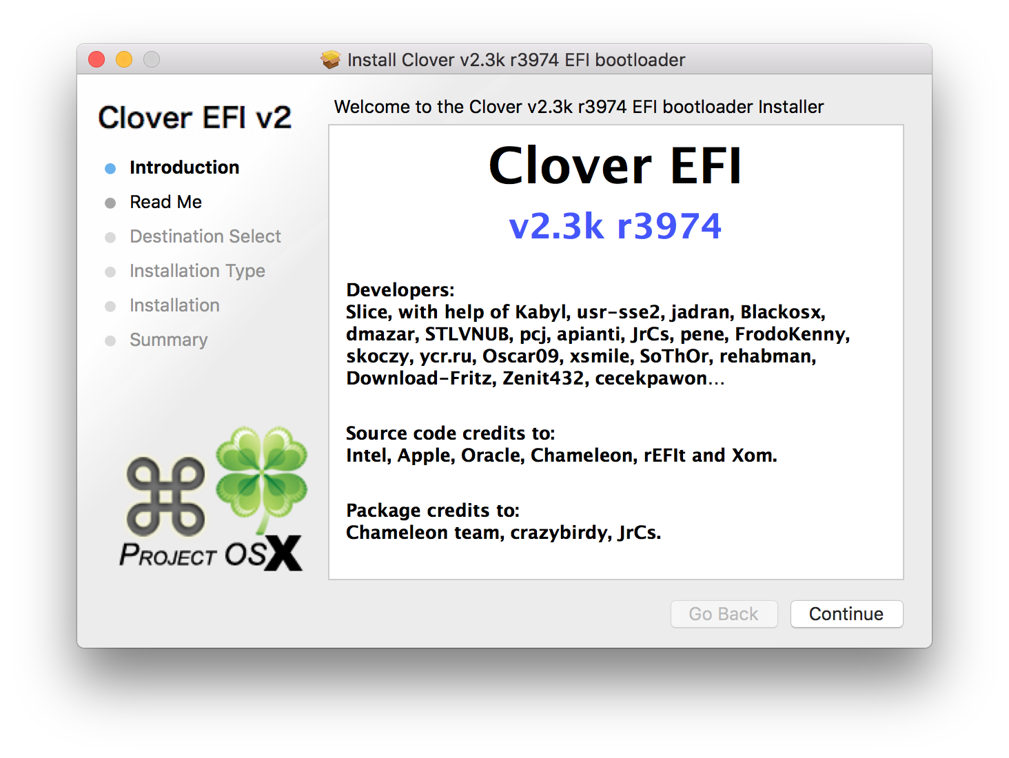 Installing Clover on a macOS Sierra Installer - Sean C