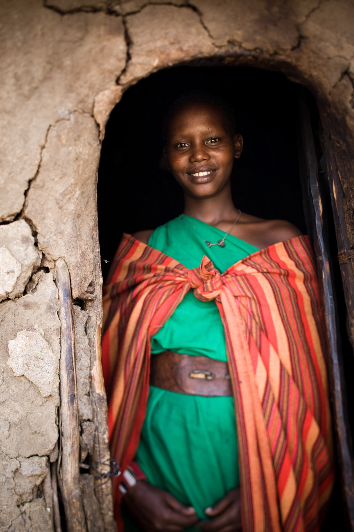 In Maasai society, women build the loaf-shaped inkajijik (house), made of mud, sticks, grass, cow dung and urine. They also collect firewood, milk cattle, cook meals, and fetch water, sometimes from sources miles away.