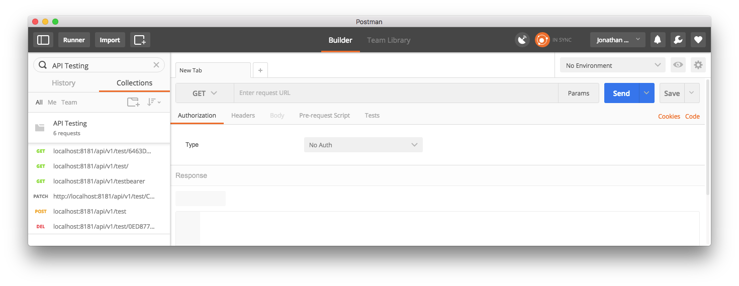 API Endpoint Testing with Postman - Server Side Swift and