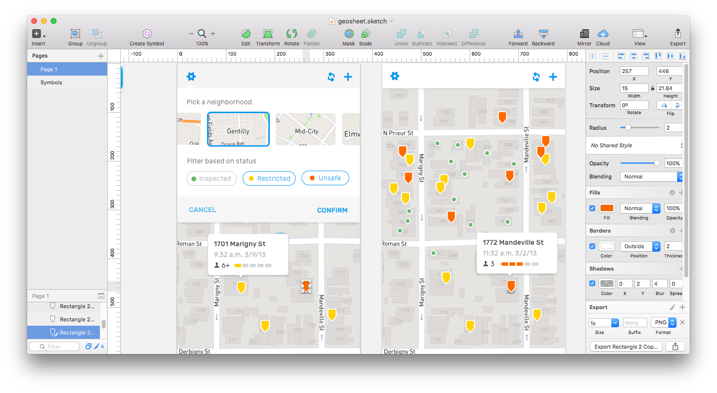 Custom Dynamic Markers With The Mapbox Ios Sdk And Paintcode By Mapbox Maps For Developers