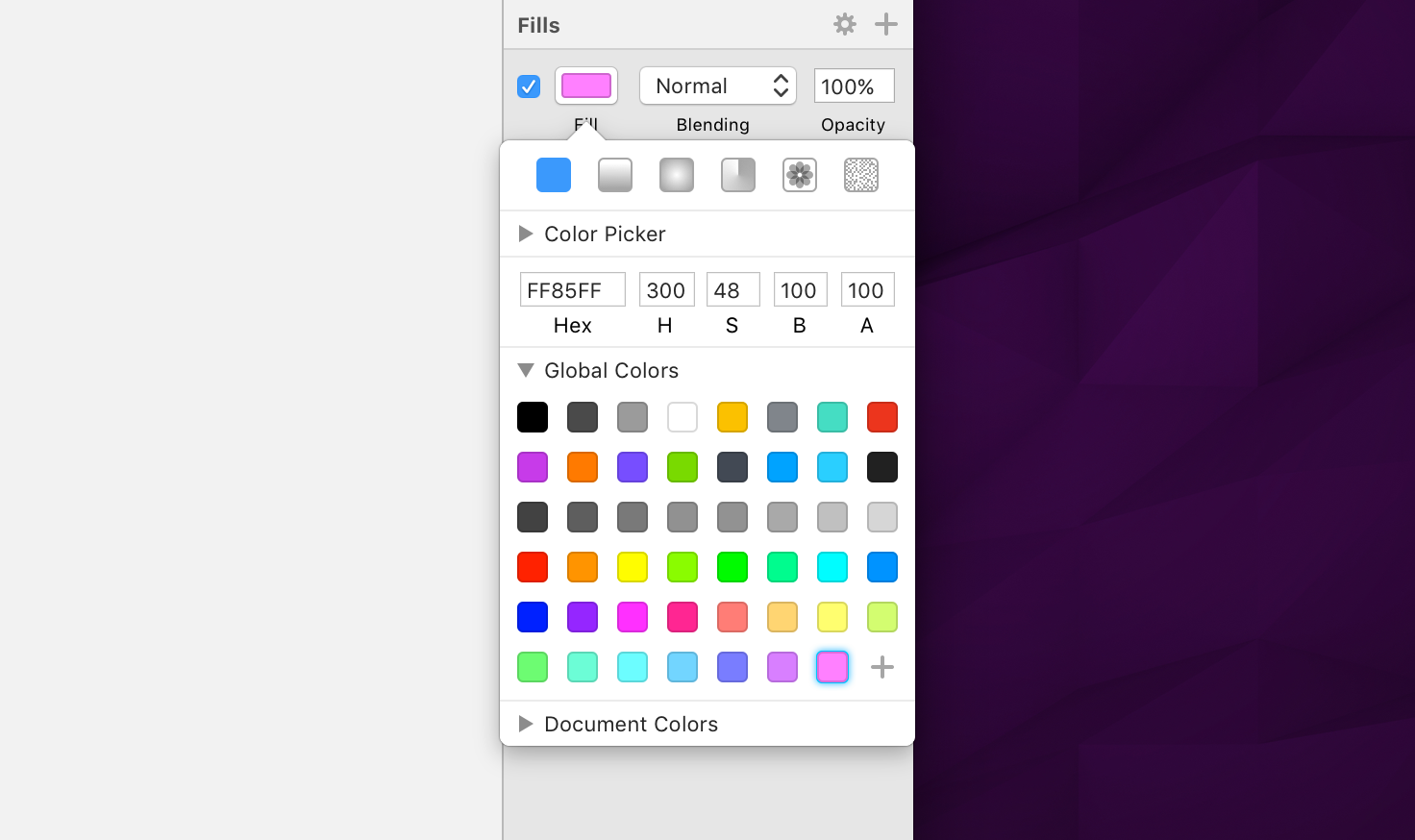 A redesigned color popover, better plugin management and