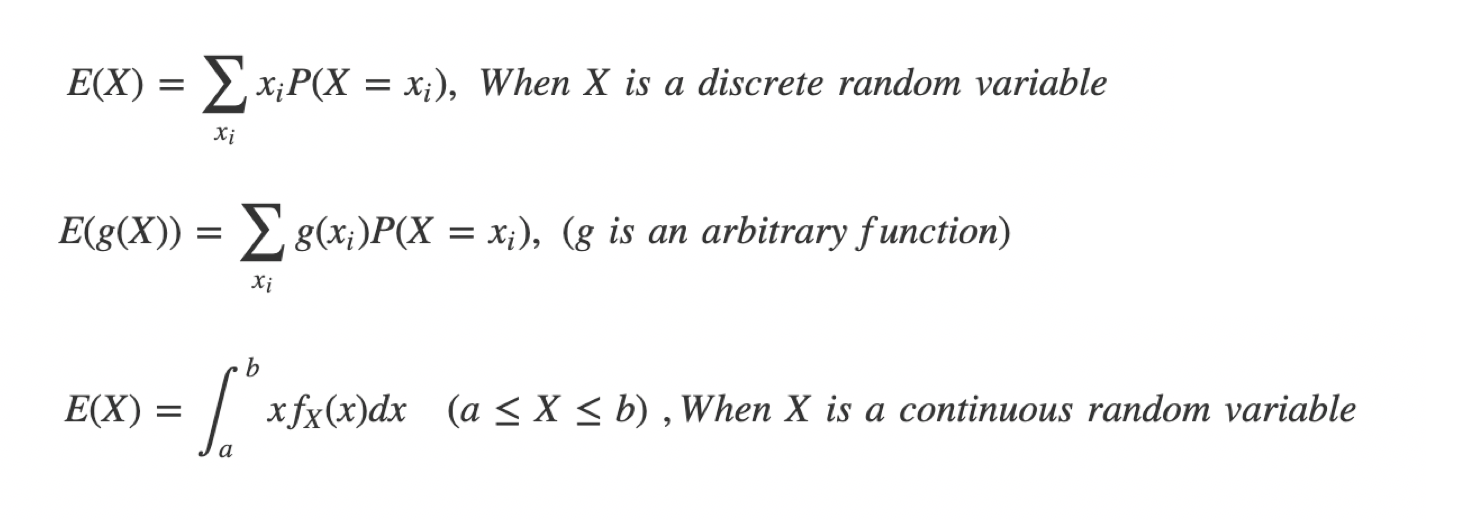 [Prob&Stats] 3. Expected Value, Variance, and Standard ...