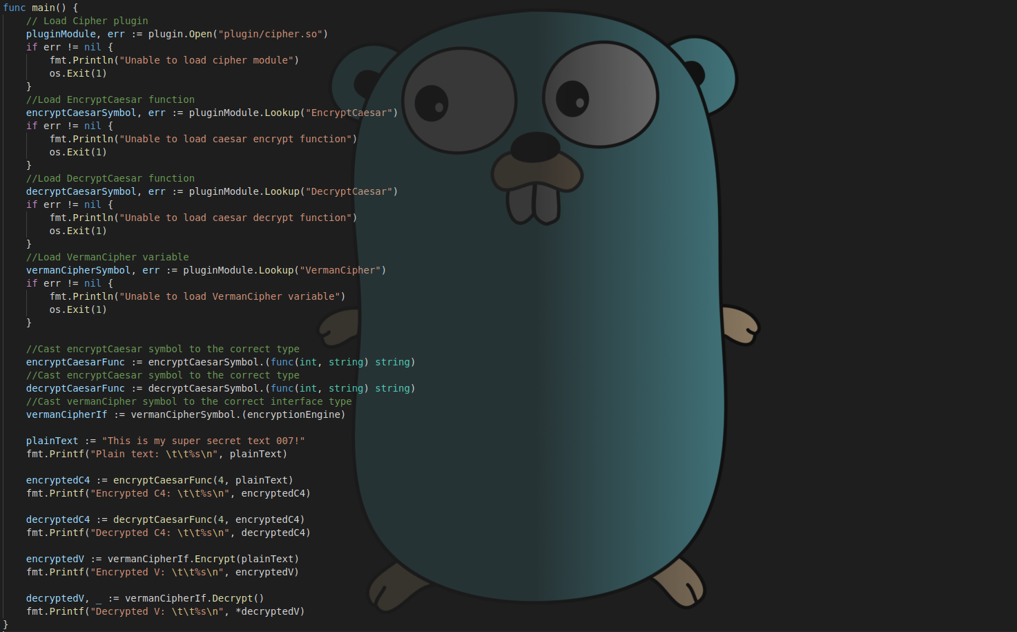 How to build pluggable Golang application and benefit from