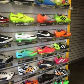 stores that sell soccer cleats near me
