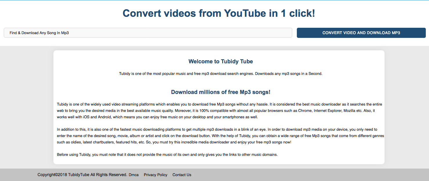 How To Convert Video To Mp3 In One Click By Tubidy By Tubidyoffical Medium