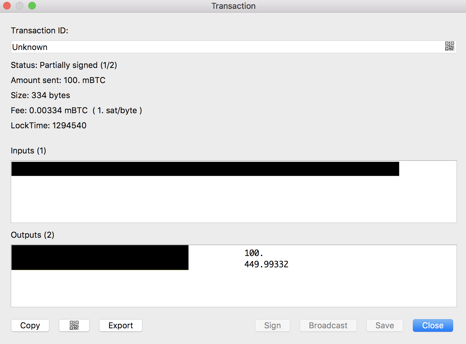 How-to: Bitcoin multi-signature wallet using Electrum and