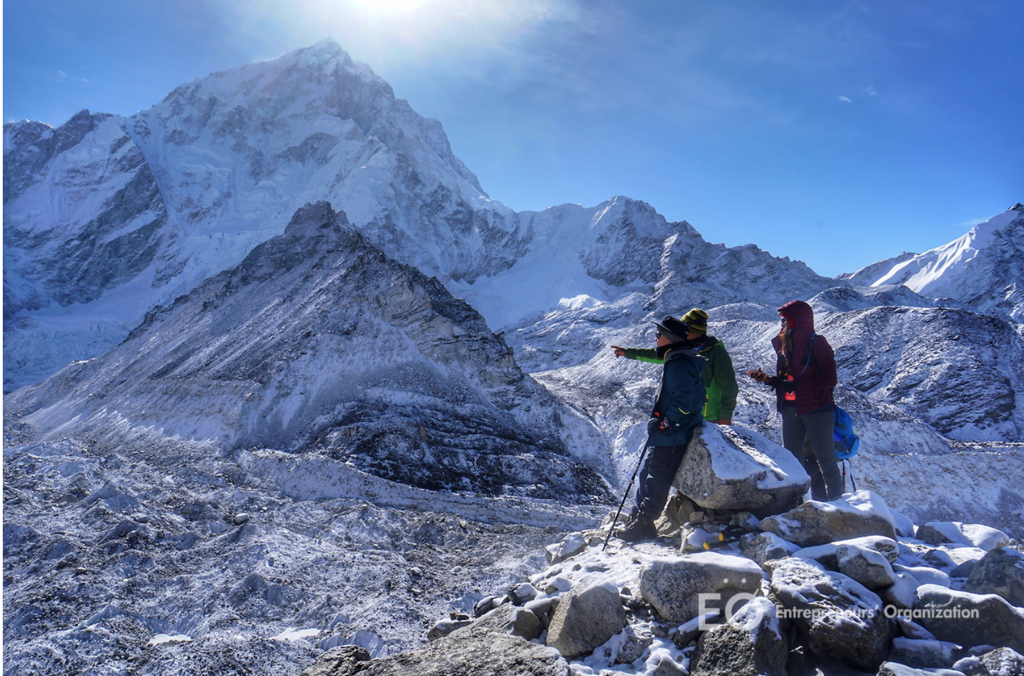 EO members at Mt. Everest Base Camp 2017