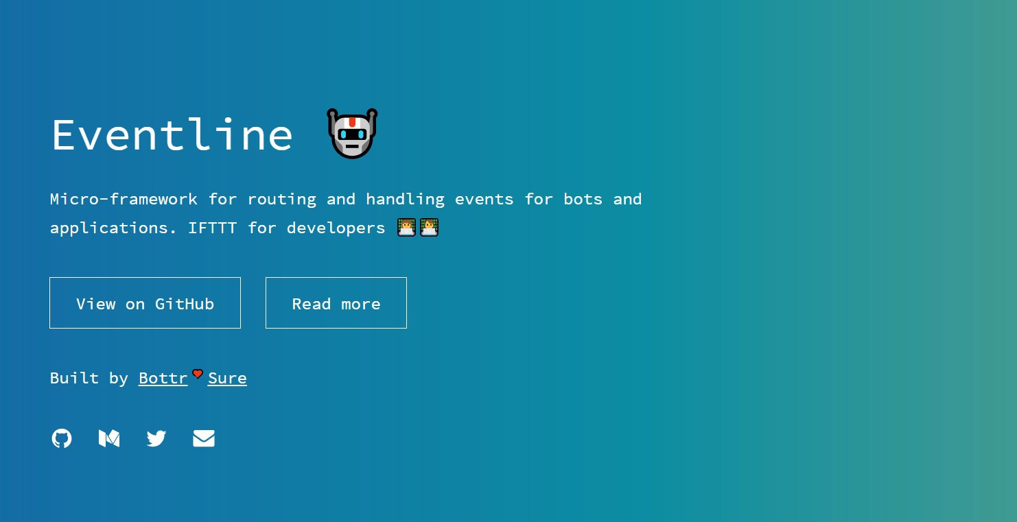 Eventline Is Like IFTTT For Chatbot Developers - Chatbots