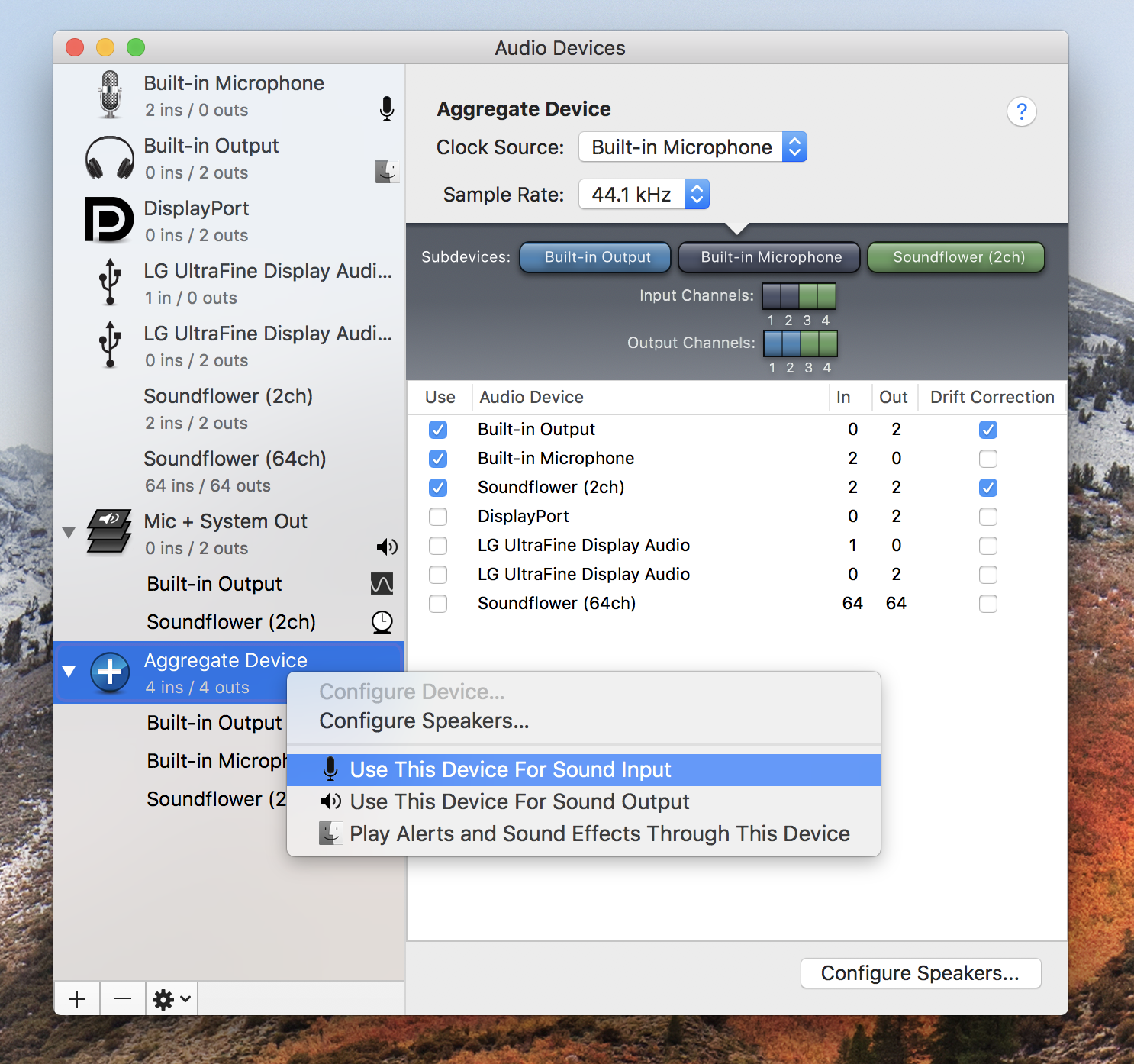 MacOS Tip: Record your screen with mic + system output