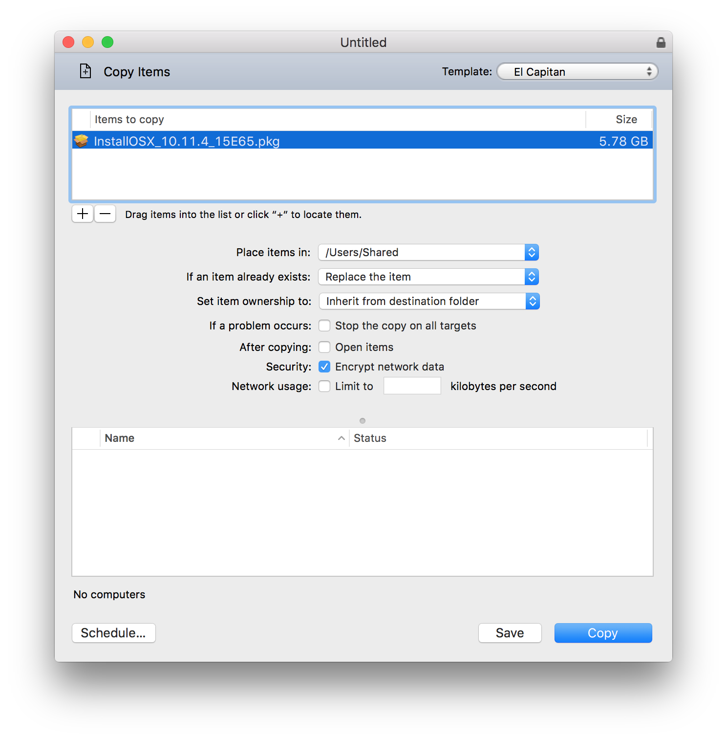 How I Upgraded Nearly 100 Macs to El Capitan In An Evening