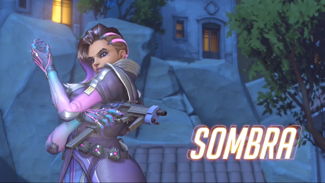 Sombra hacks into Overwatch - Logan Busbee - Medium