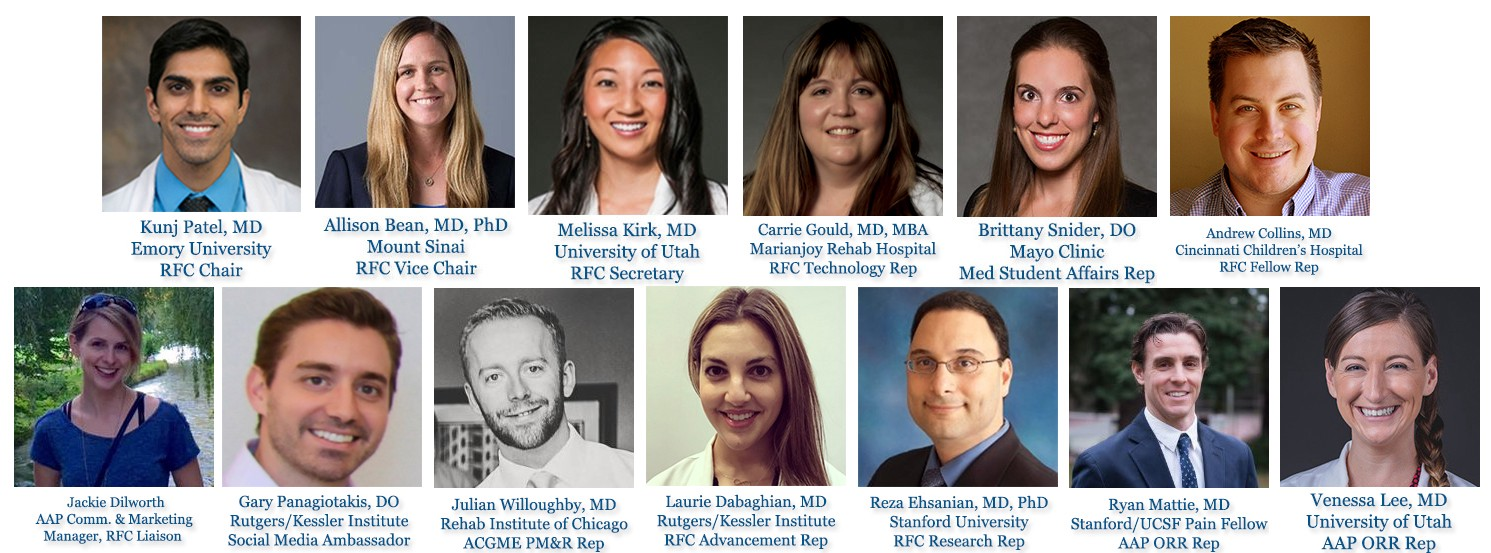Introducing the new 2018–2019 Resident Fellow Council of the