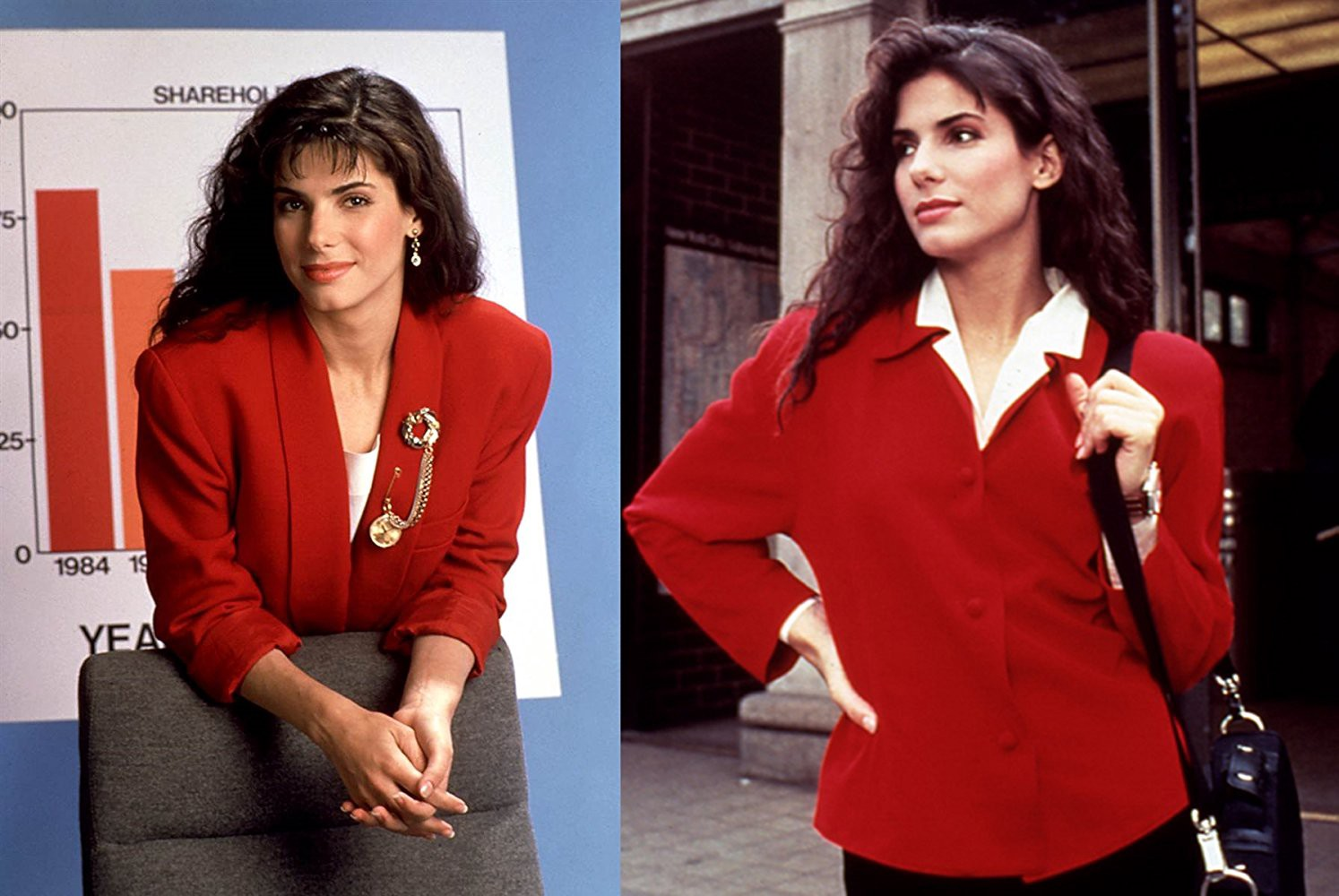The Sandra Bullock Files #6: Working Girl (1990) - Brian Rowe - Medium