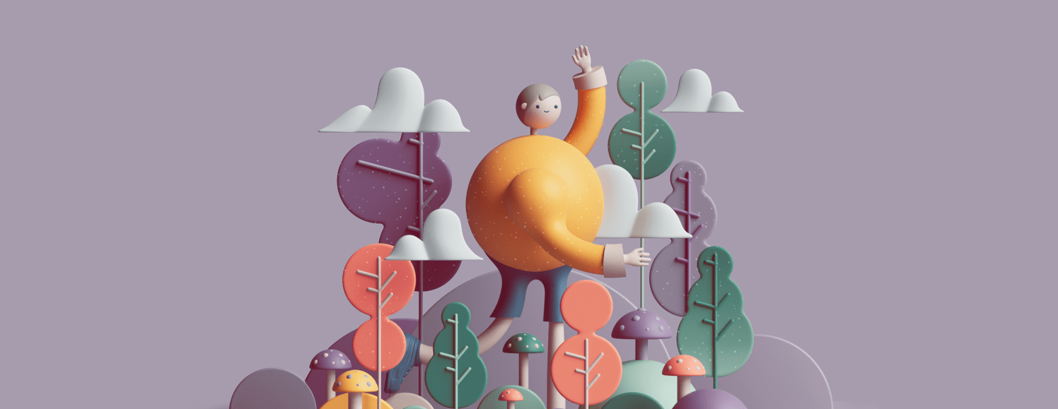 From 2D to 3D Illustration — Design Trend | by Masterpicks | UX Planet