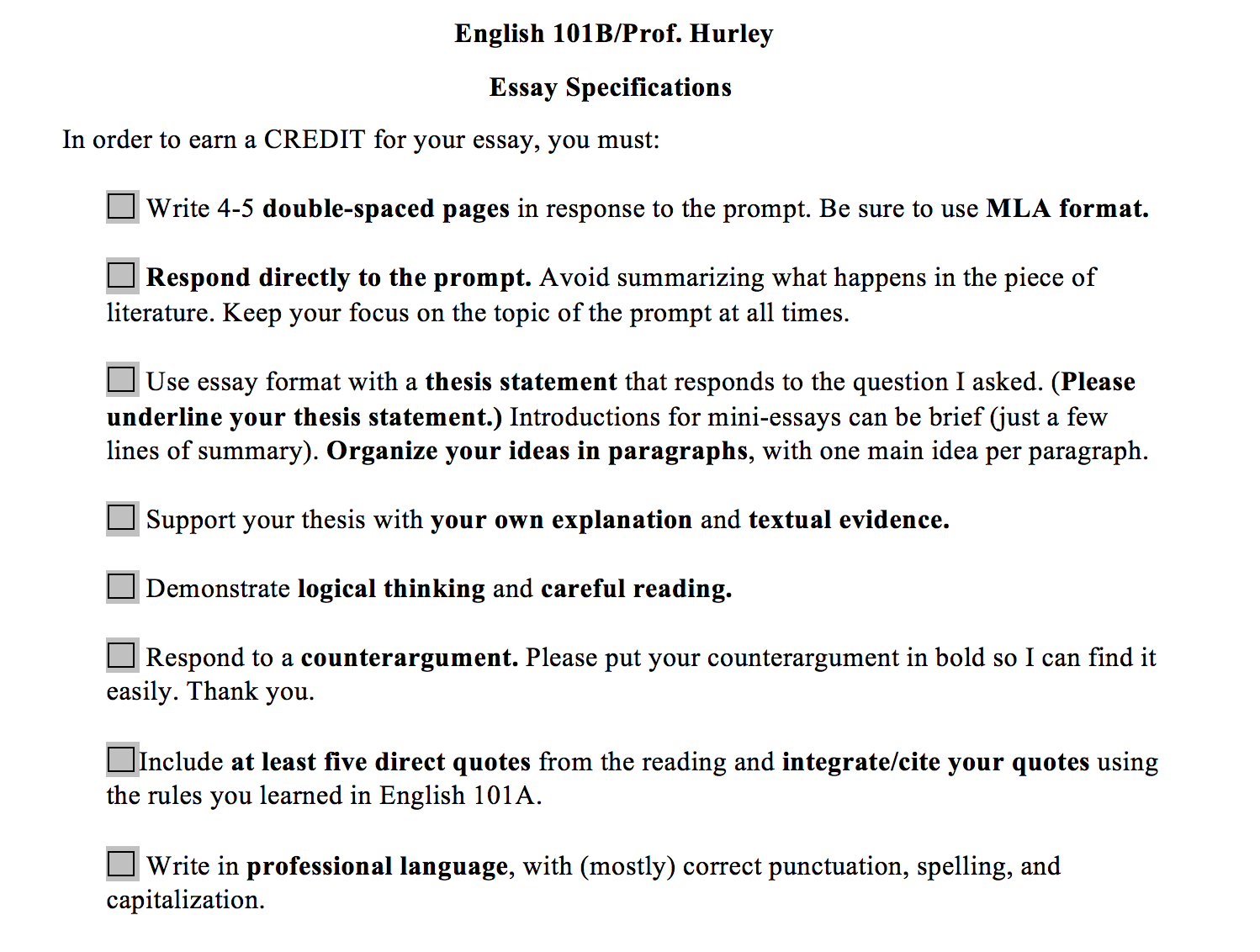 How To Write A Good Thesis Statement For An Essay  Examples Of An Essay Paper also High School Essays Vagueness The Surprising Thing We Might Need More Of In  Essay On Pollution In English