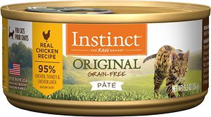 Instinct by Nature's Variety Original Grain-Free Real Chicken Recipe Natural Wet Canned Cat Food