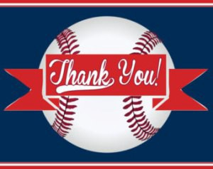 Thank You Thursday | by Baseball Assistance Team | Step up to B.A.T.