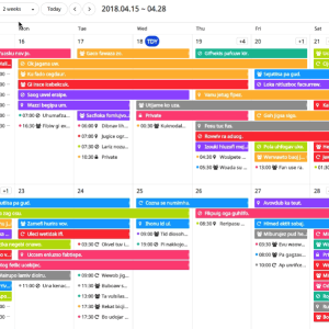 Javascript Calendar.Top 10 Javascript Open Source Of The Month V May 2018