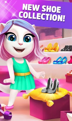 My Talking Angela 4 1 2 359 Mod Apk [Unlimited Money] Android
