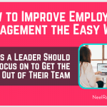 How to Improve Employee Engagement the Easy Way