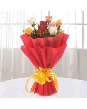 Flower Bouquet Delivery In Chennai By Cake Fite Medium