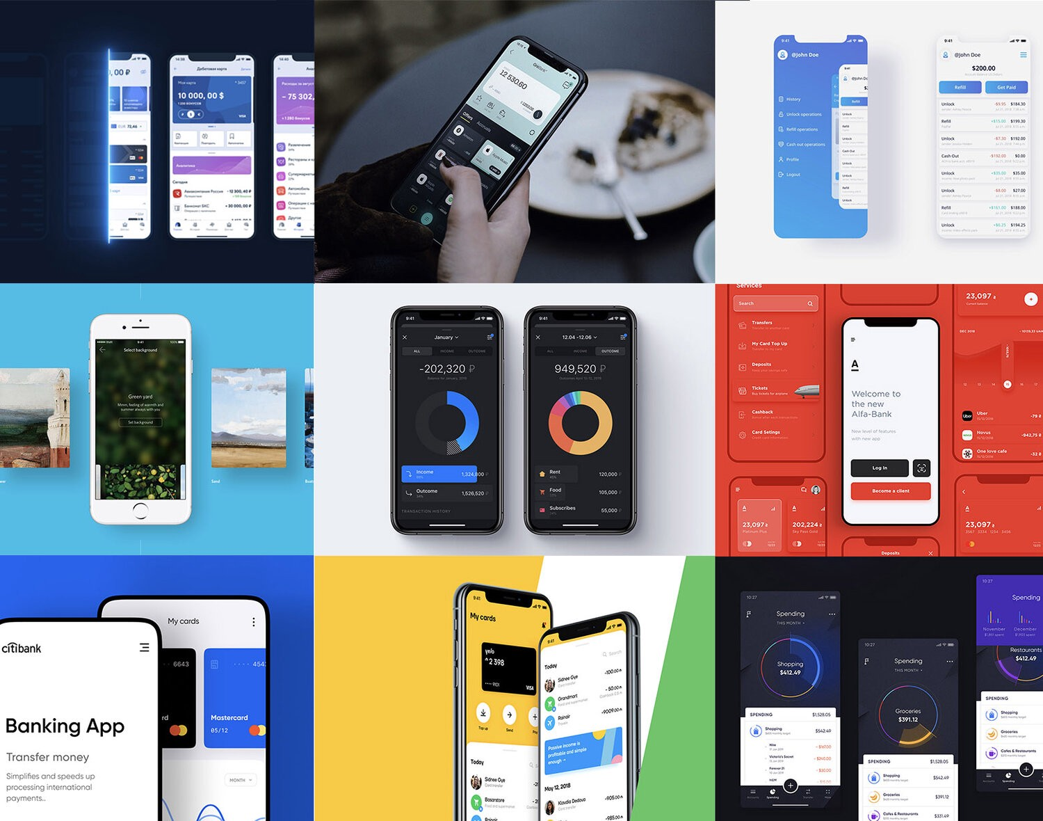 Top 10 Banking App Ui Design Case Study By Interface Market Muzli Design Inspiration