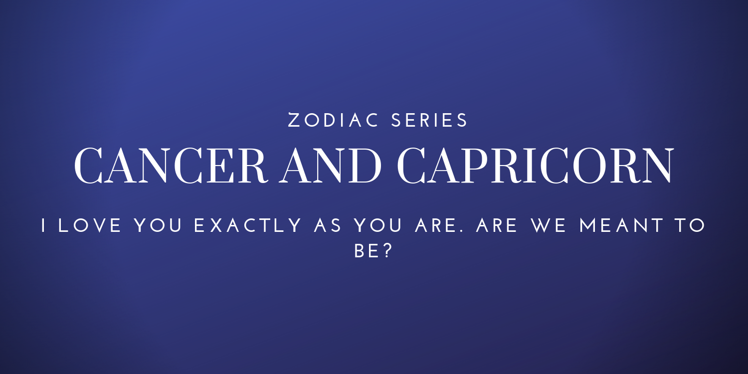 Capricorn and cancer fight