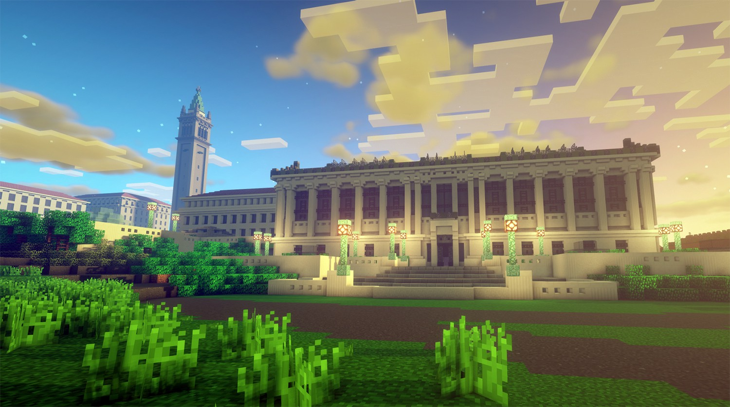 I Graduated From My University on Minecraft  by Justin Parker