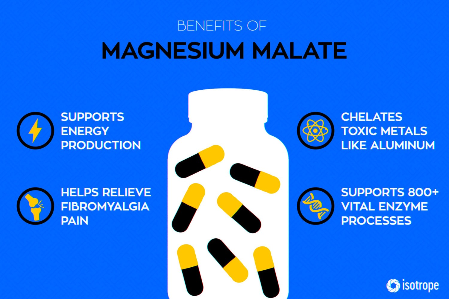 Magnesium Malate: Supports Natural Energy Production