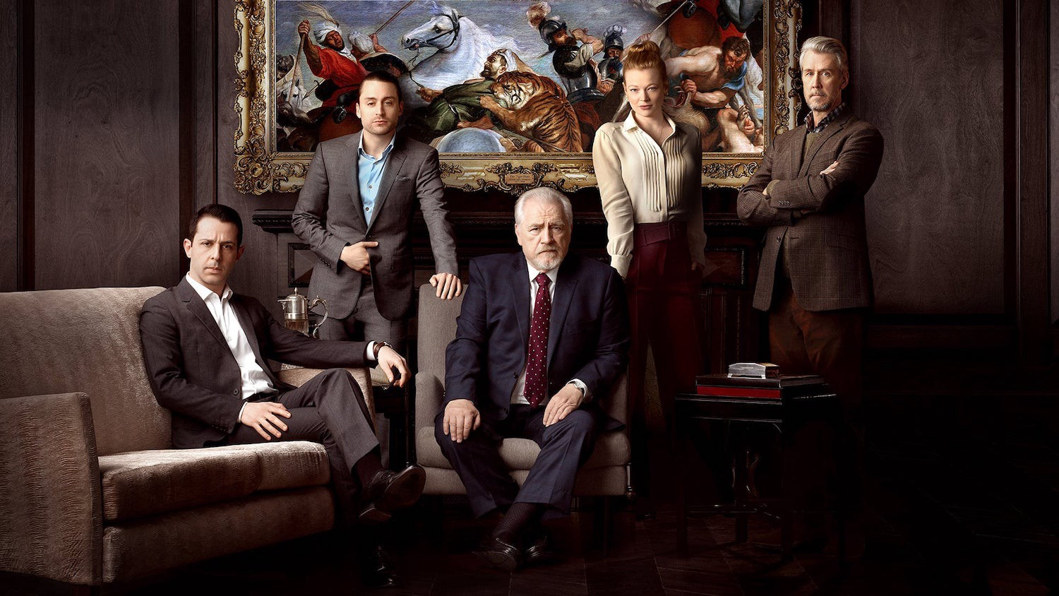 The cast of HBO's Succession.
