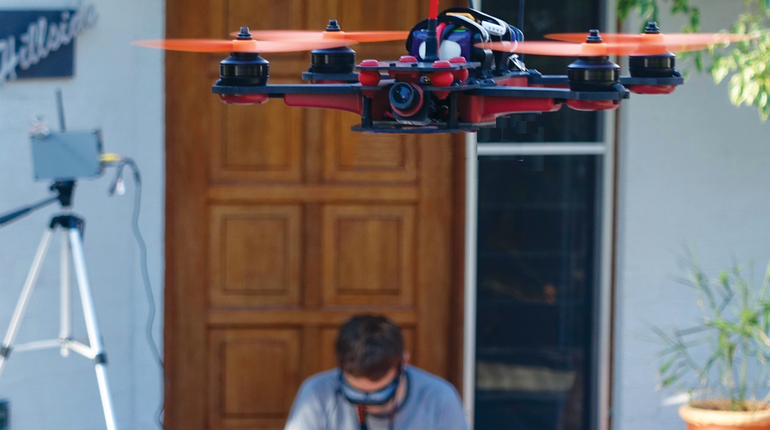 Photo of drone.