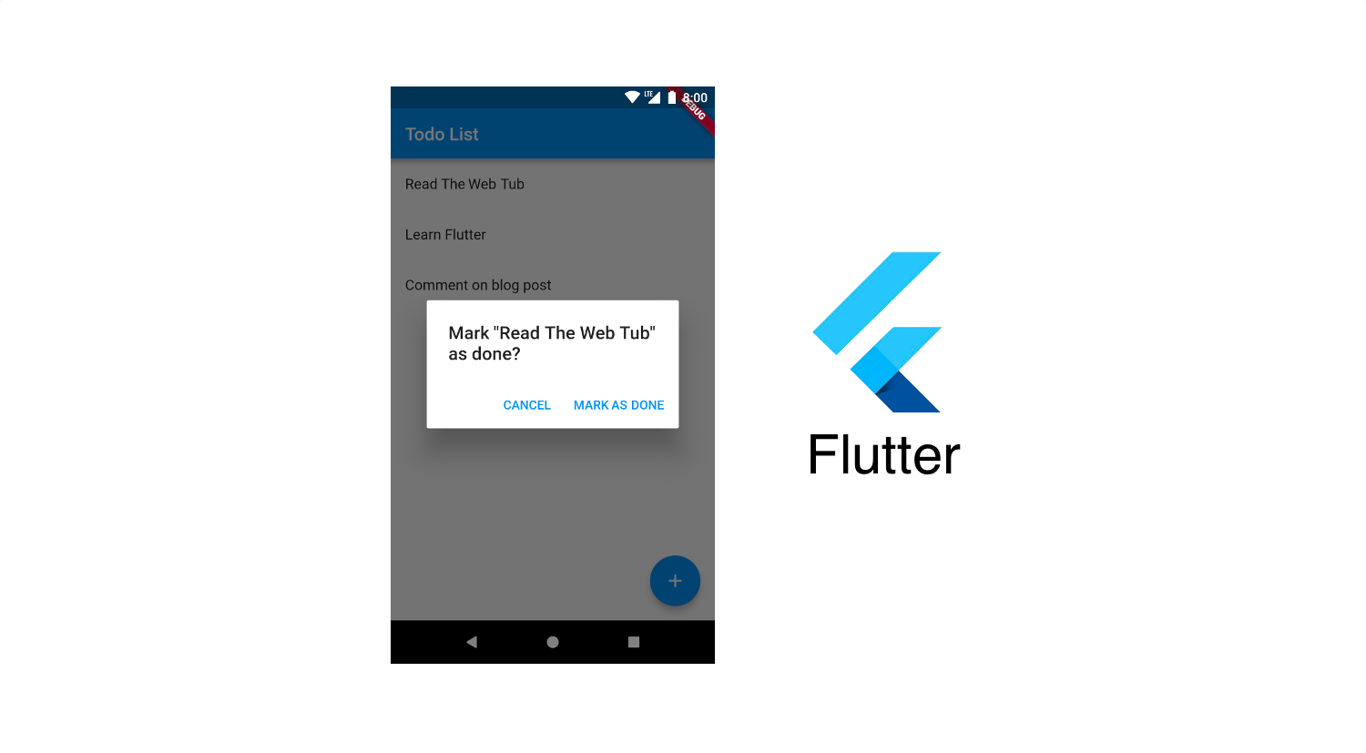 Making a Todo App with Flutter - The Web Tub - Medium