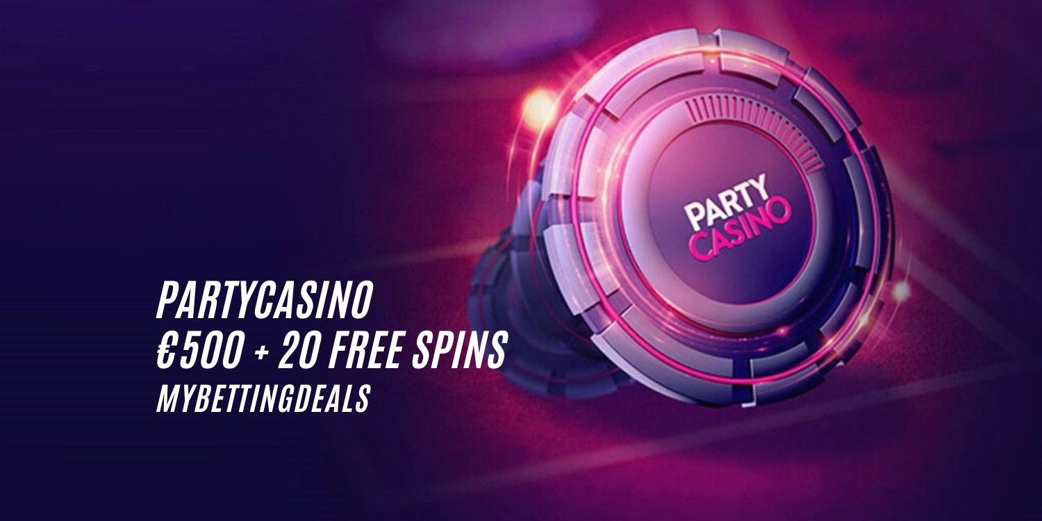 Claim Your Partycasino Welcome Bonus 500 20 Free Spins By