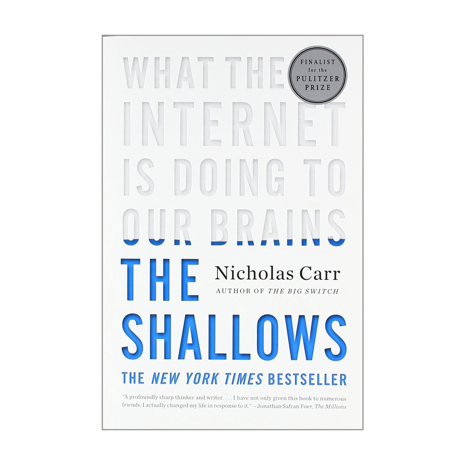 Book Reflection The Shallows By Nicholas Carr By Unhooked Medium