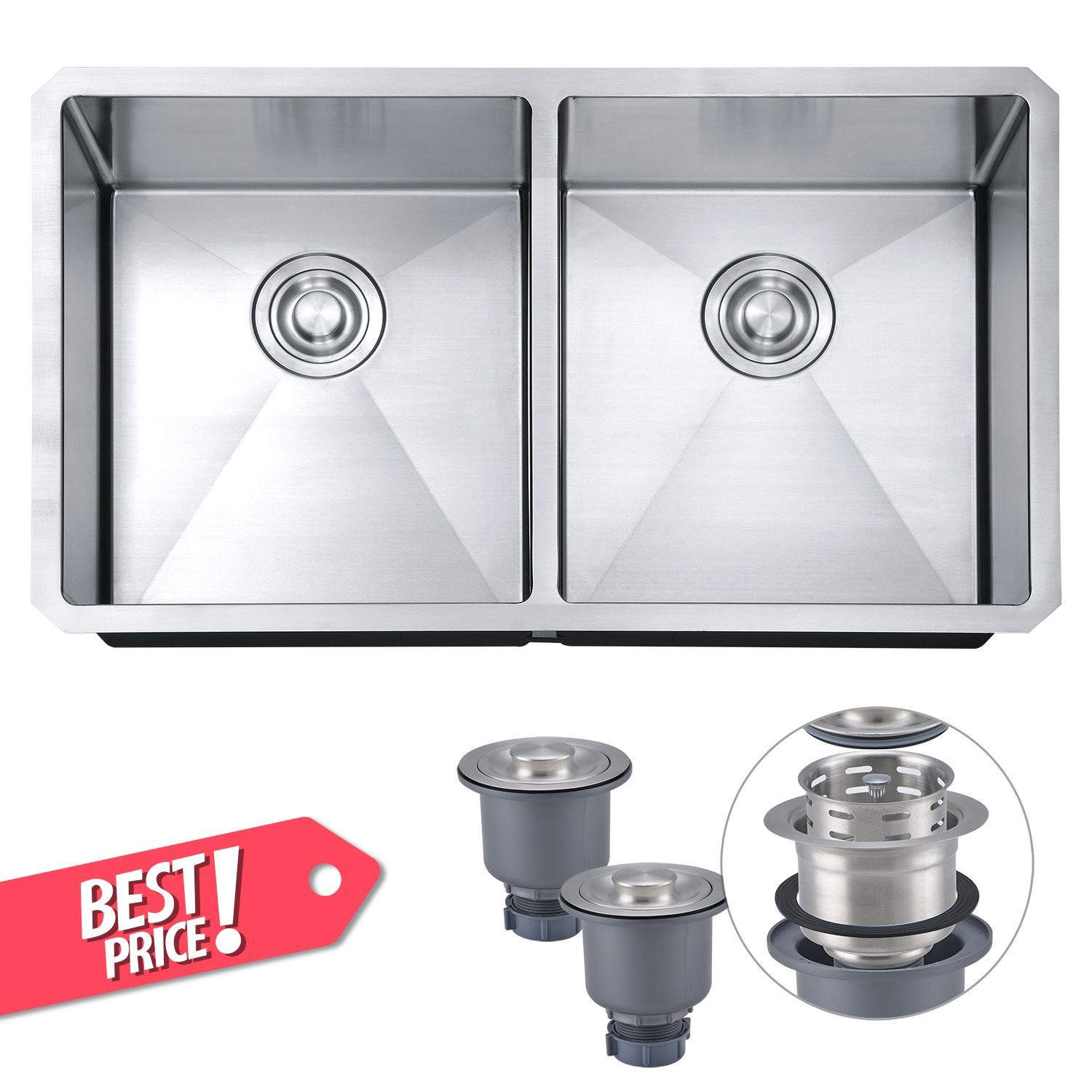 10 Best Stainless Steel Sink Review-Always a good choice