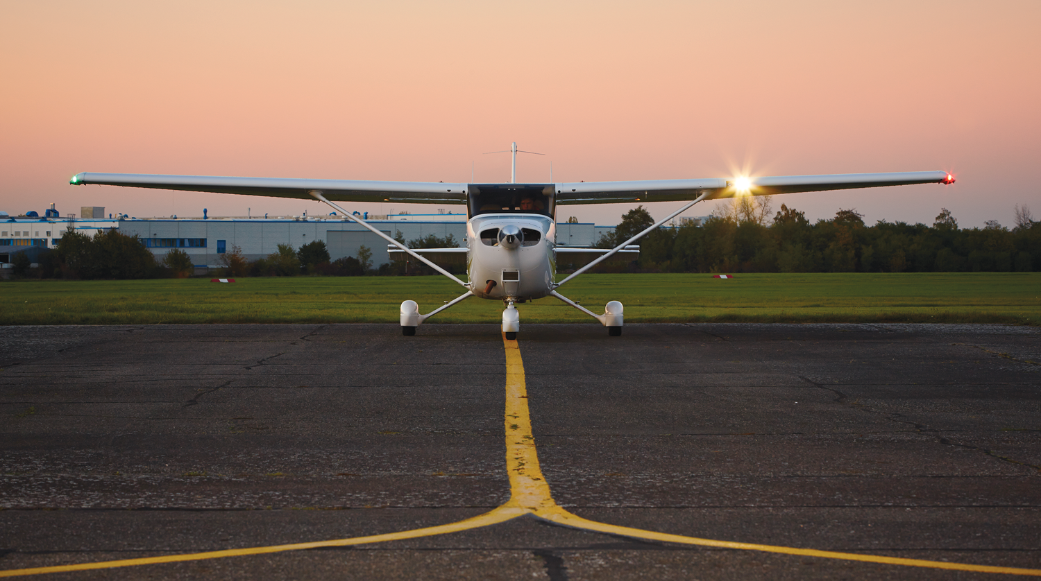 Photo of a Cessna airplane.