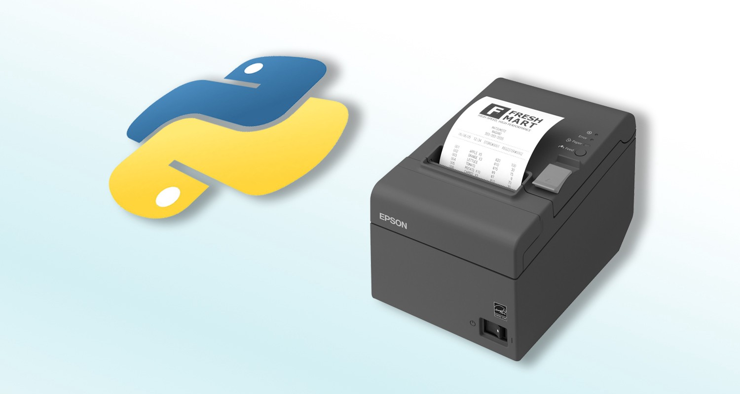 Printing with Python and Epson POS printer  - Kakar Nyori