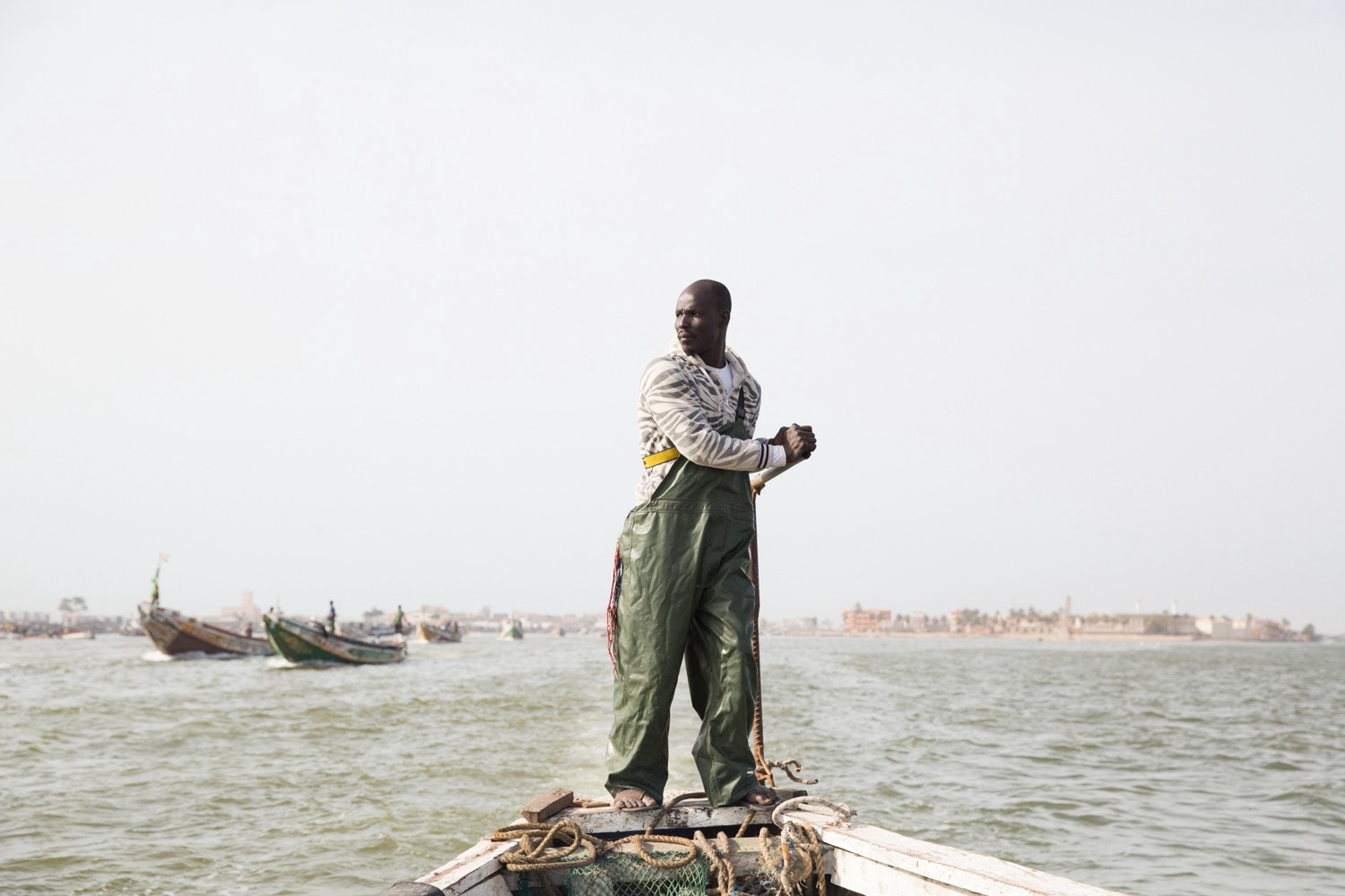 Senegal fisherman